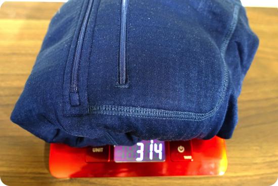 R1プルオーバー 重量