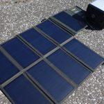 アンカーパワーハウスをソーラー充電