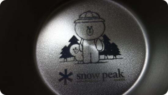 LINE FRIENDS | Snow Peak コラボレーションアイテム