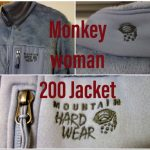 「マウンテンハードウェア モンキーウーマン200ジャケット」