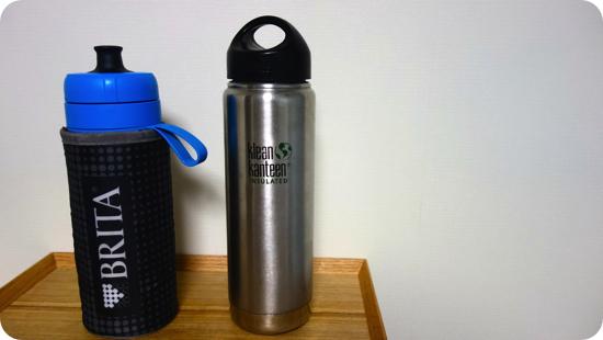 ブリタ 水筒 直飲み 600ml 携帯用 浄水器