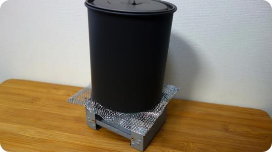 サーモスタック クッカーコンボ SOD-521の炊飯に使う蓋