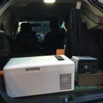 【車中泊】ポータブル電源でもシガーソケットでも | Bonarca 冷蔵冷凍庫 15L