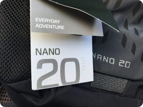 グレゴリーのリュック「ナノ20(Nano20)」の特徴や写真をブログレビュー
