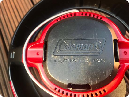 CPX6テントファンLEDライト付(コールマン)の写真レビュー